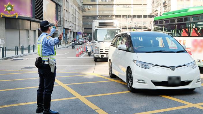 Traffic jams during Macau Grand Prix 1st day