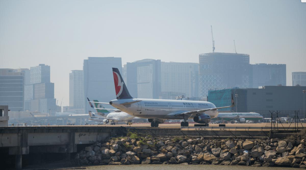 Macau airport logs record 6.6 million passengers