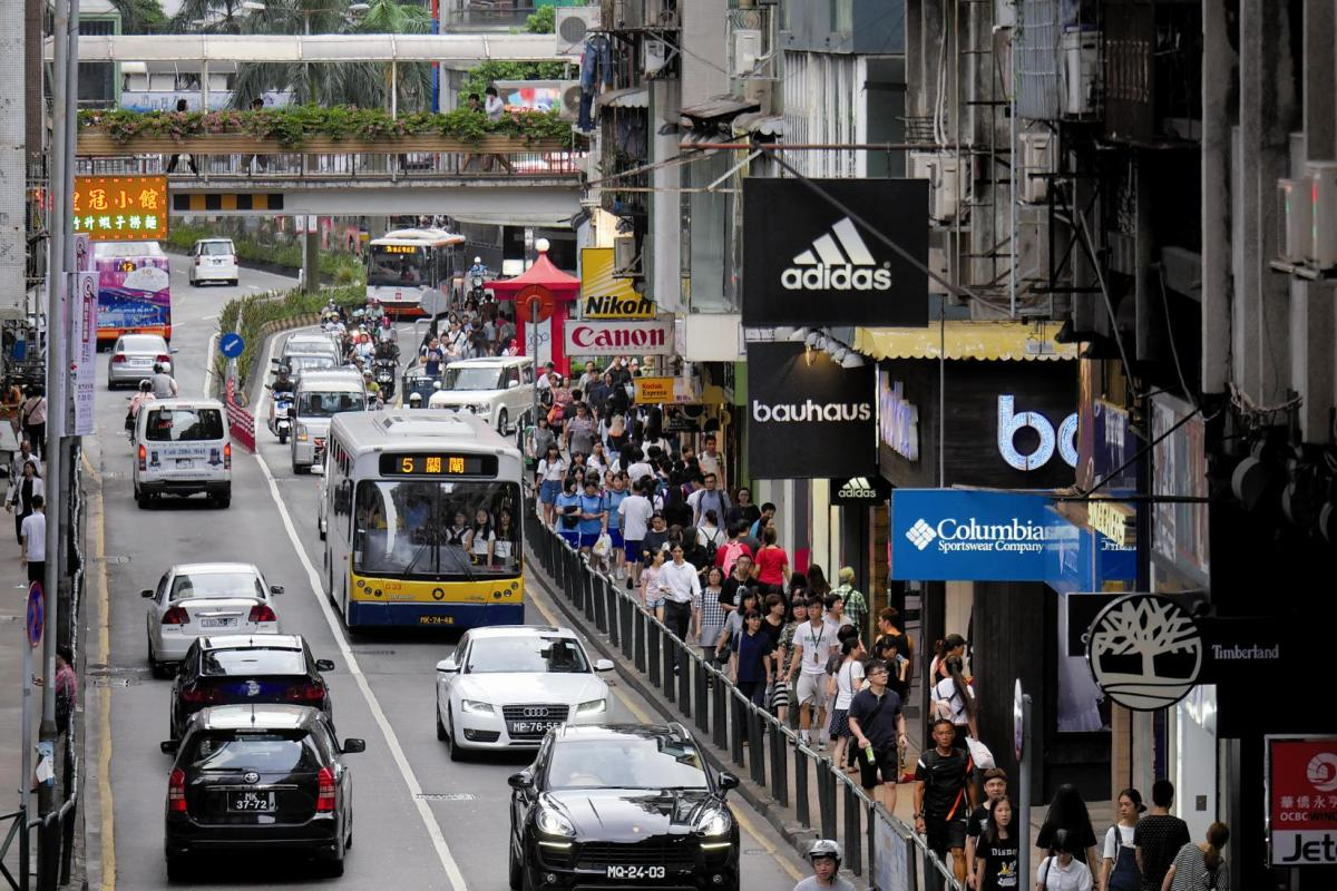 Macau's motor vehicle registrations dropped 29 percent last year