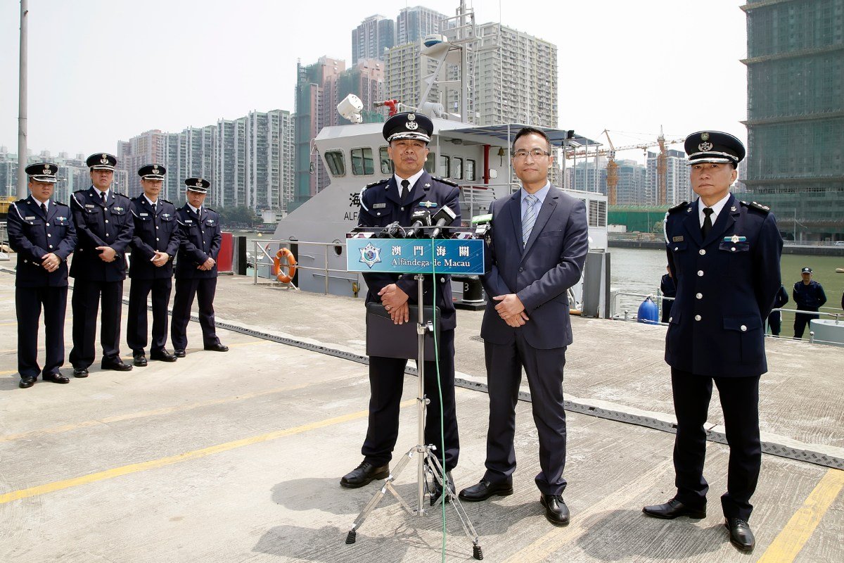 Gangs use new people-smuggling method says Macau Customs Service