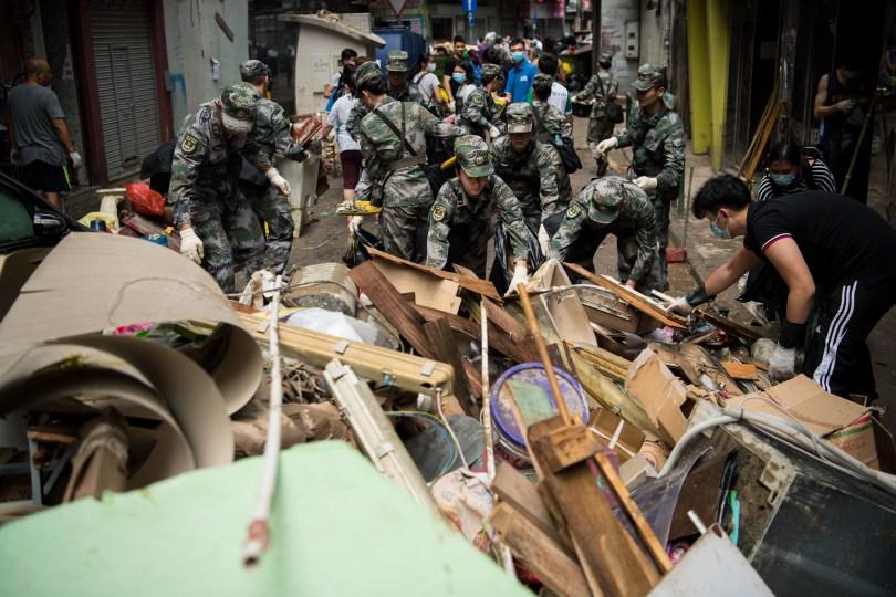 Typhoon Hato financial losses
