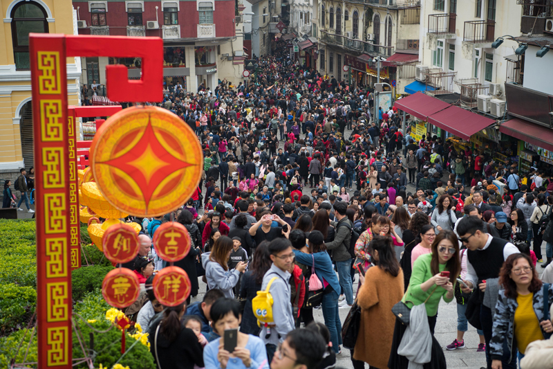 Curbing tourism would affect Macau's image: MGTO chief