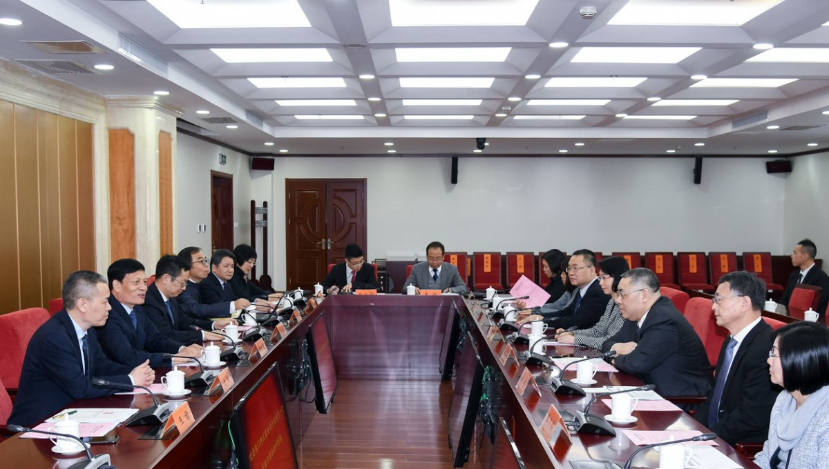 Chui in Beijing seeks science, technology innovation cooperation