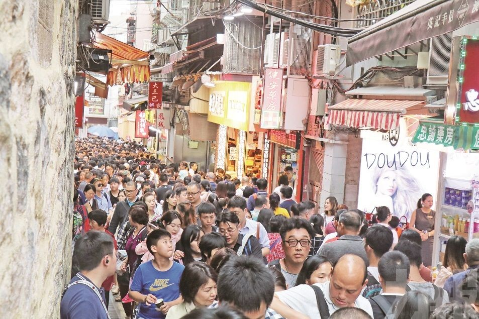 Over 180,000 Tourists entered Macau On Labor Day