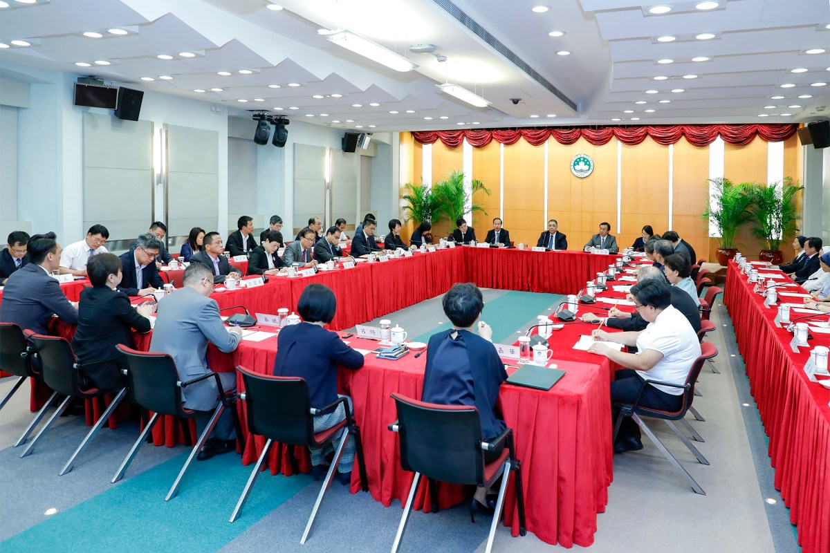 Chui heads meeting about spirit of Xi's letter to local pupils