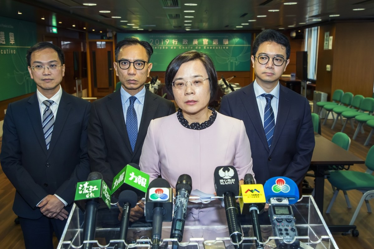 Ho has been accepted as nominee for CE election: Song
