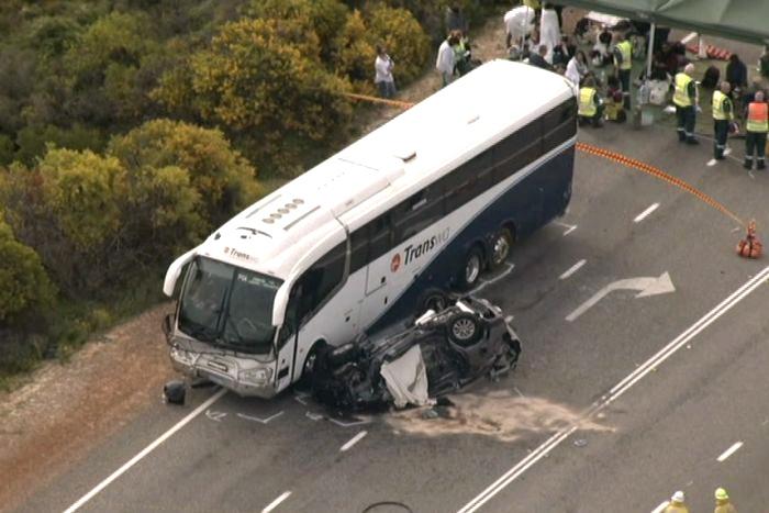 2 Macau women die after car, bus collide in Australia