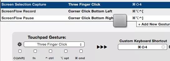 finger gesture automation