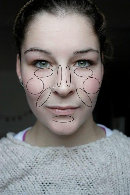 Je gezichtt shapen met concealer