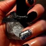 Ciate nagellak: Locket, diamant zilveren glitter nagellak