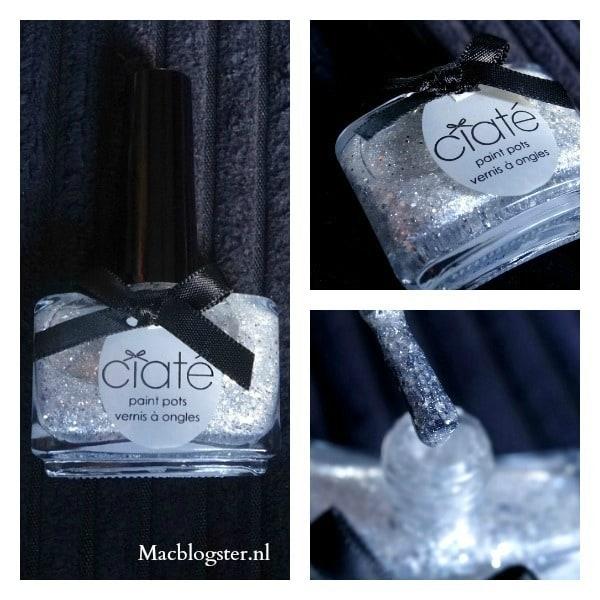Ciate Locket zilveren glitter topcoat