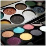 Sleek Sparkle palette 2: swatches & look