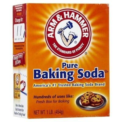 krullen en kroeshaar wassen met baking soda