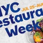 Travel: NYC Restaurant week 2016 zomer editie
