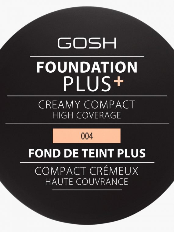 Gosh Foundation Plus with Creamy Compact High Coverage - new