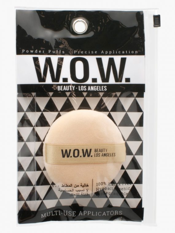 W.O.W Beauty Puff and Ribbon - new