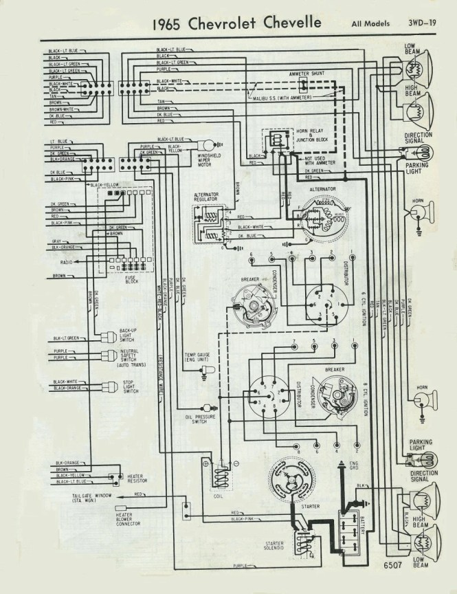 70 chevelle wiring diagram The Wiring – 1969 Chevelle Wiring Diagram