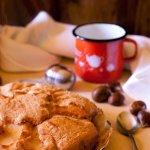 Torta di crema di marroni e mele