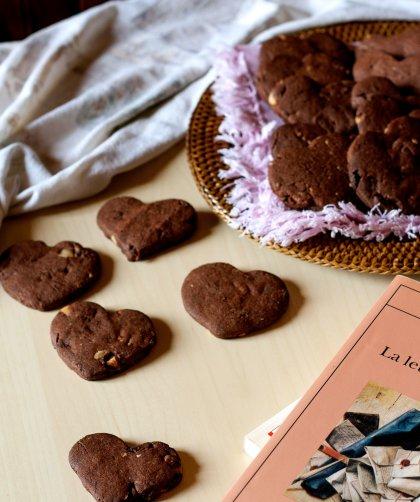 Cookies al doppio cioccolato