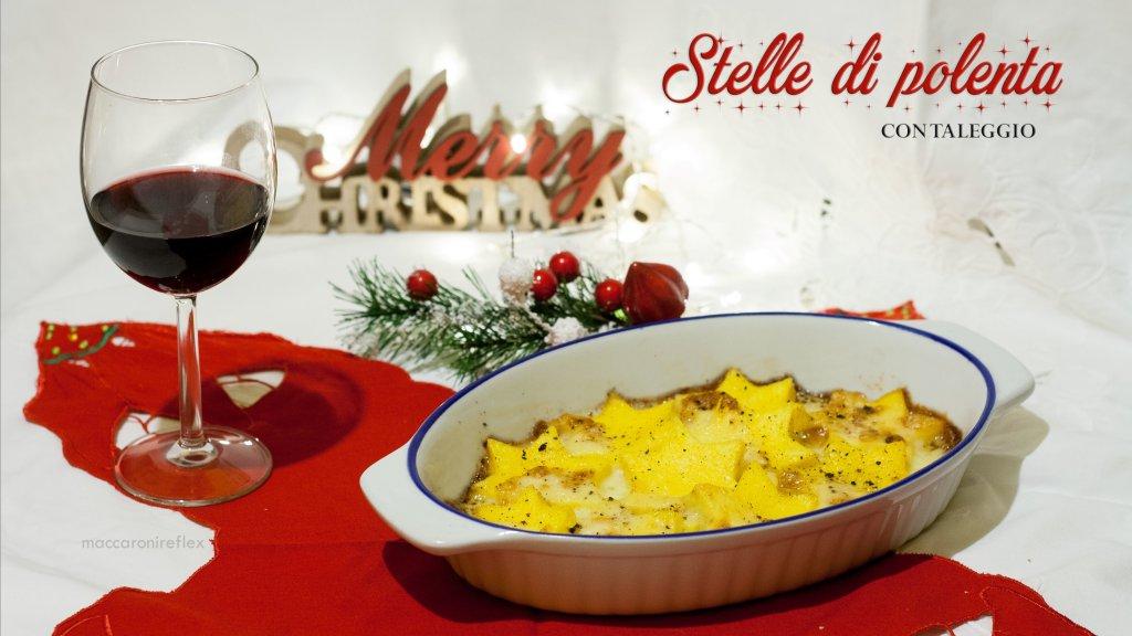Stelle di polenta con taleggio