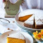 Torta di carote e mandorle tipo Camilla - dolci per colazione