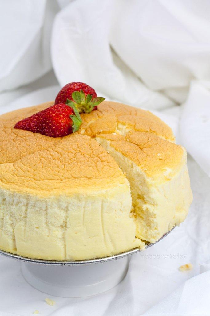 Japanese cotton cheesecake - ricetta giapponese