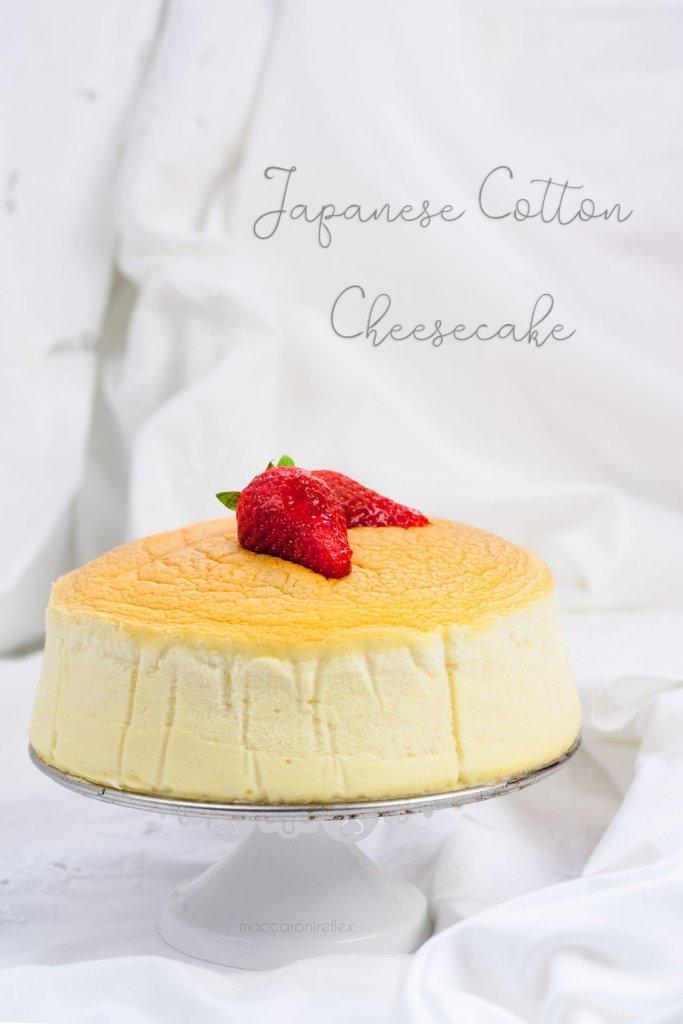 Cotton cheesecake giapponese ricetta