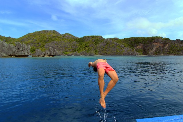 Flipping out, El Nido