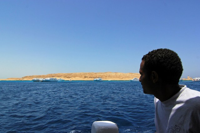 Exploring the waters of the Red Sea, Egypt