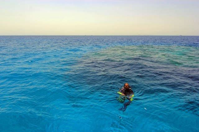 The blues of the Red Sea