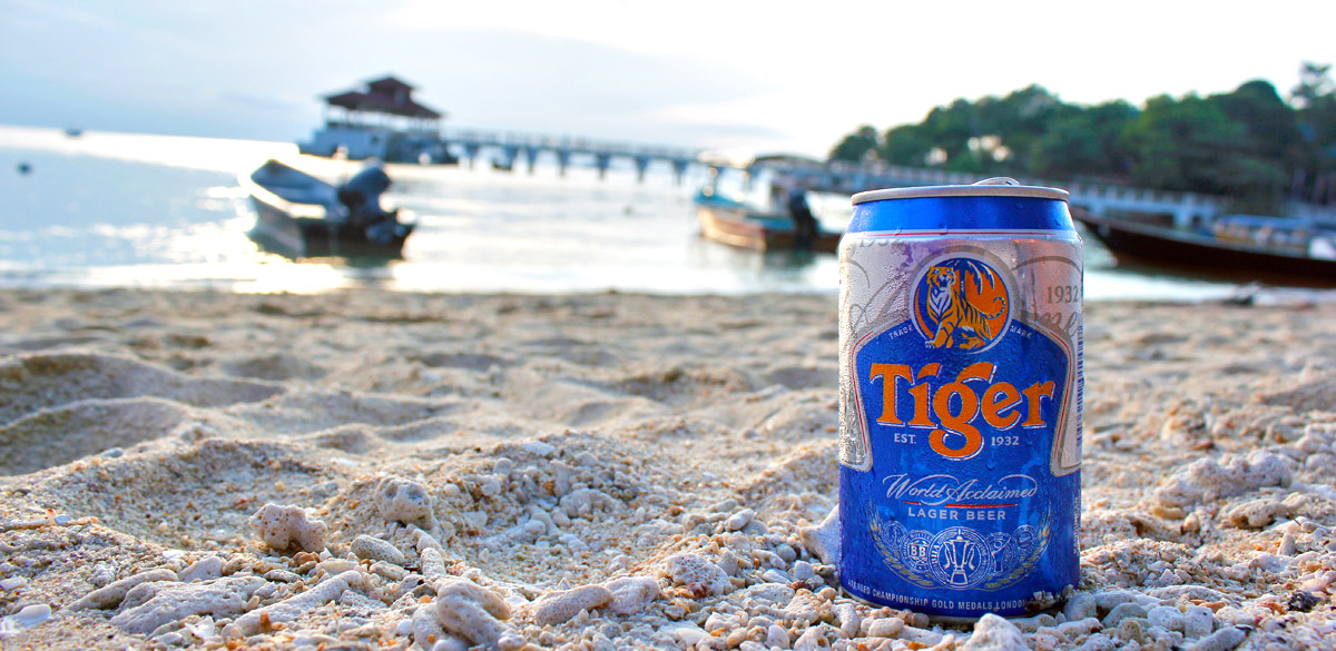 A Beer on the Beach