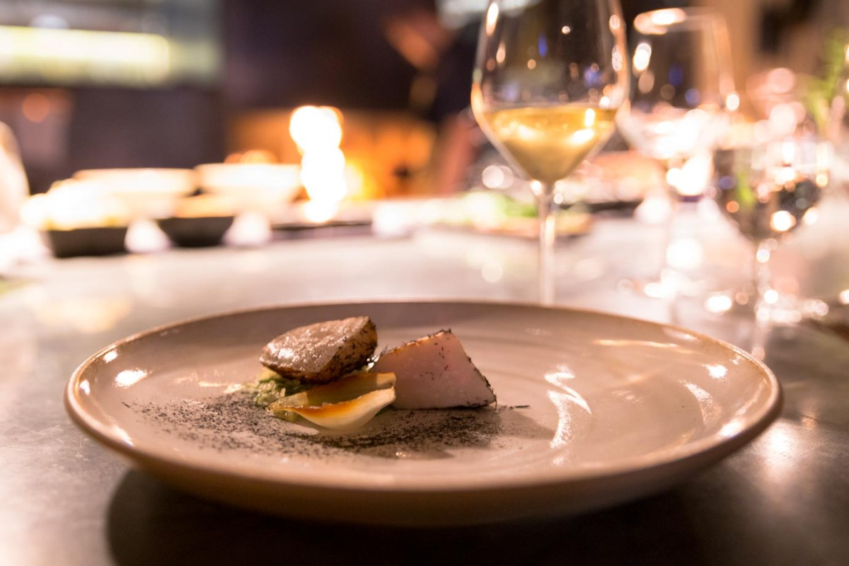 Sumptuous scallops from Ekstedt