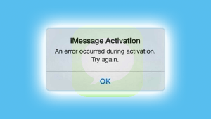 imessage waiting for activation 1
