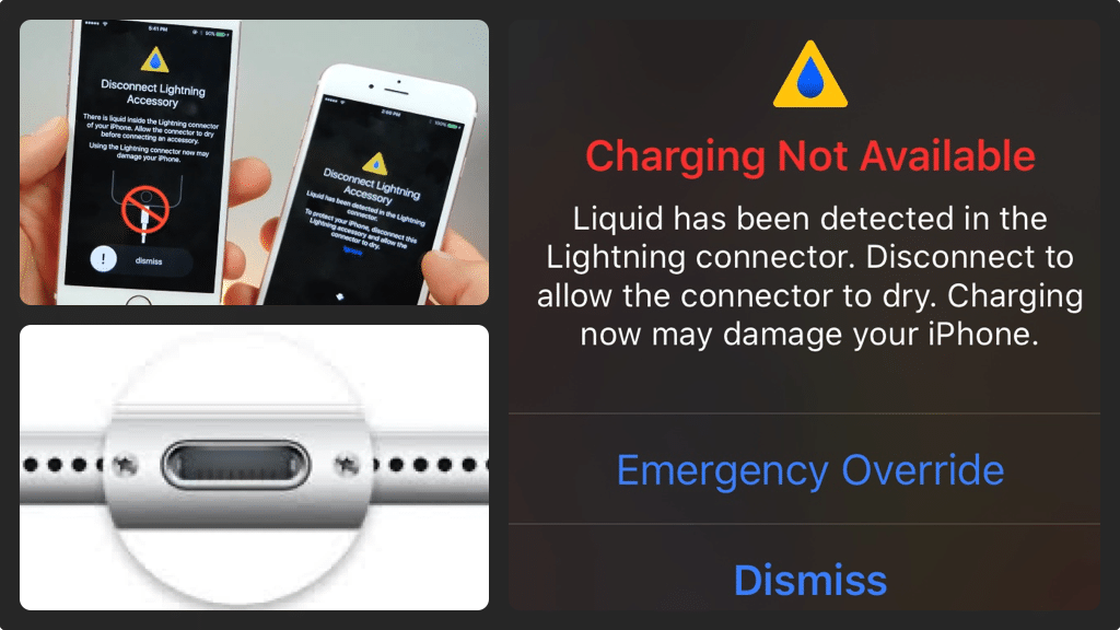 Charging not available