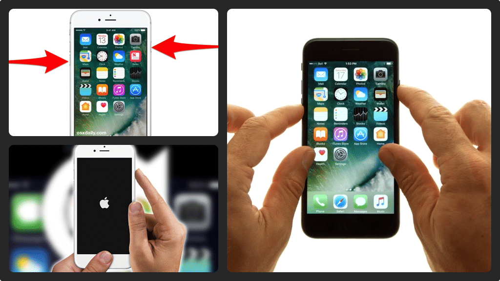 Soft Reset iPhone 7