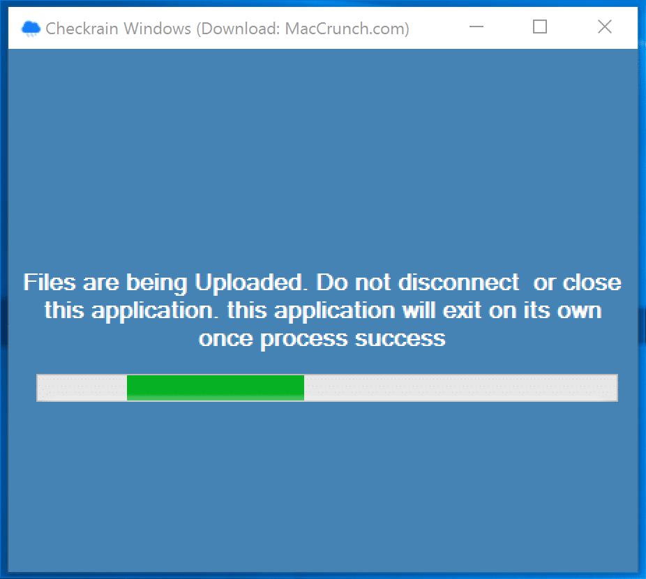 Uploading of Files