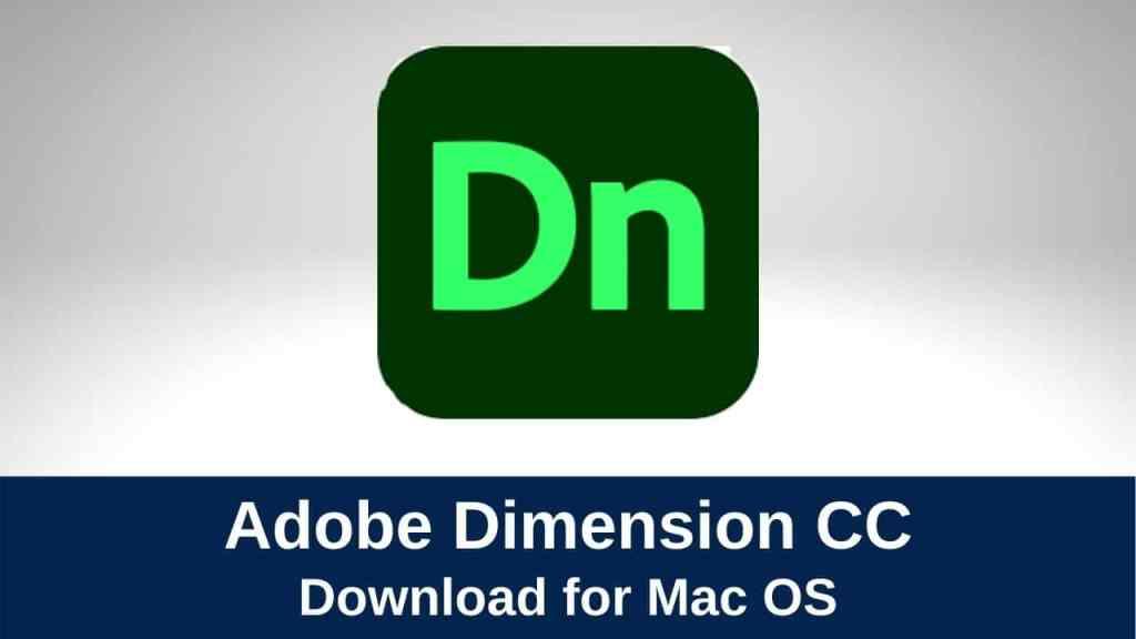download adobe dimension
