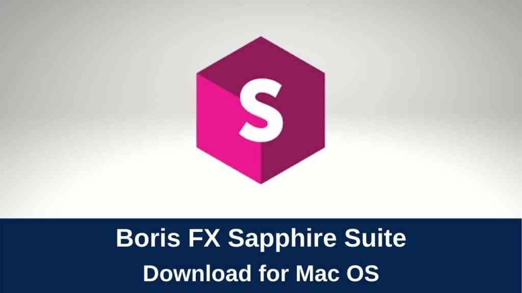download boris fx sapphire