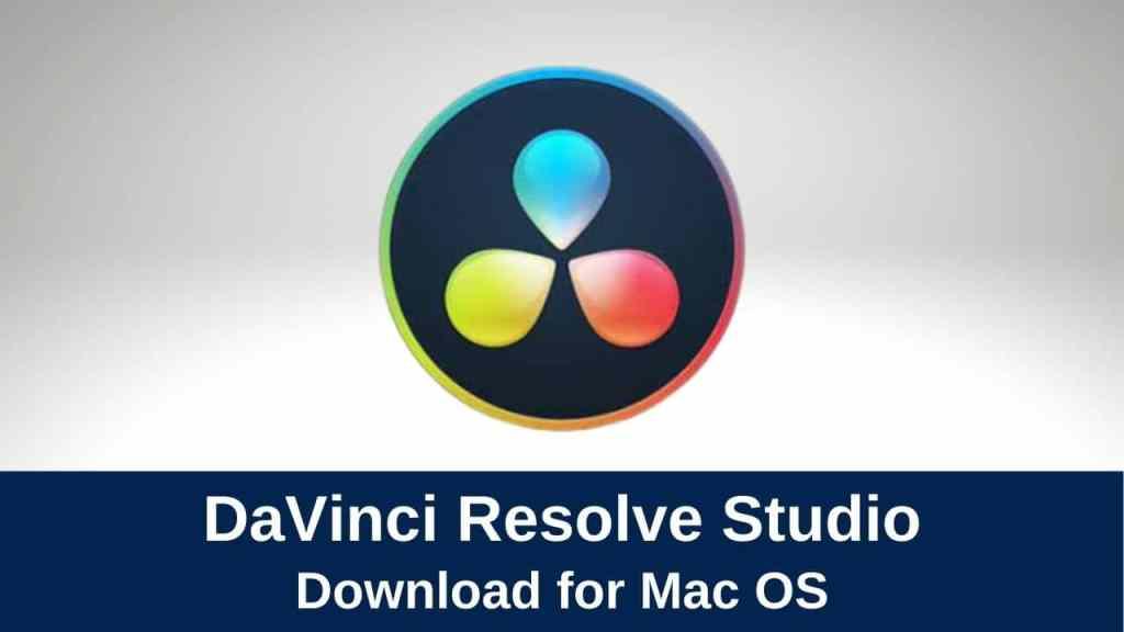 download davinci resolve studio