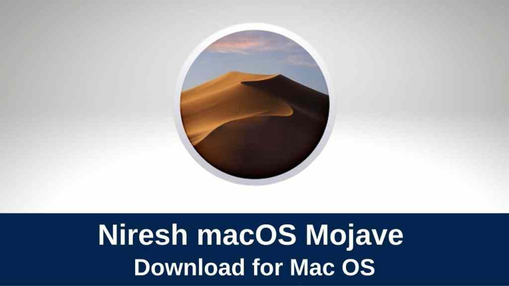 download niresh macos mojave