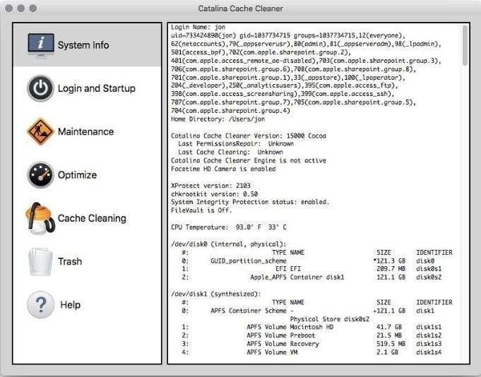 download Catalina Cache Cleaner