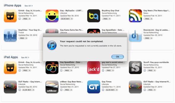 Apple pulls 'ex-gay' app from iTunes App Store – MacDailyNews