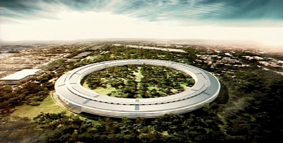 The mothership has landed! Proposed new Apple Campus building in Cupertino, California