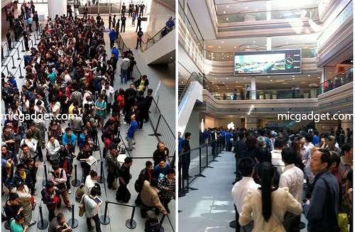 Shanghai's Nanjing Road Apple Store Grand Opening