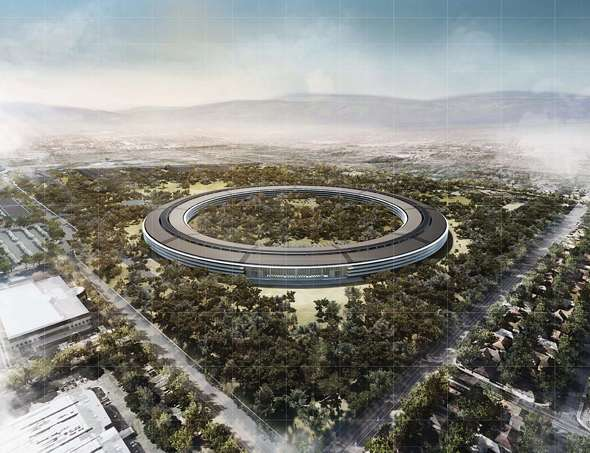 "Apple Campus 2 project - ""Mothership"" - Cupertino, CA"