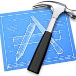 Xcode for iPhones and iPads. Image: Apple's Xcode icon
