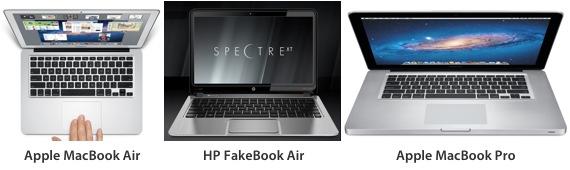 HP FakeBook Air (Envy Spectre XT)