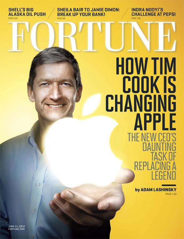 Fortune cover: How Tim Cook is changing Apple