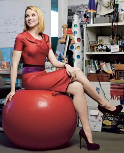 Yahoo CEO Marissa Mayer (photo by Brigitte Lacombe)