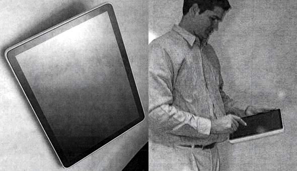 Early Apple iPad prototype